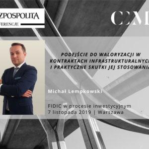 MICHAŁ LEMPKOWSKI PRELEGENTEM NAKONFERENCJI RZECZPOSPOLITEJ