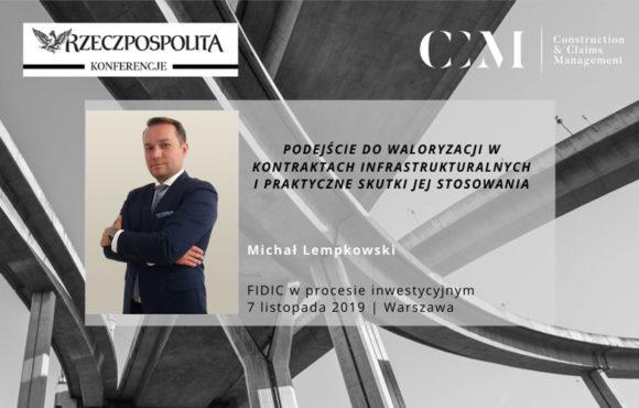 MICHAŁ LEMPKOWSKI – SPEAKER AT THE RZECZPOSPOLITA NEWSPAPER'S CONFERENCE