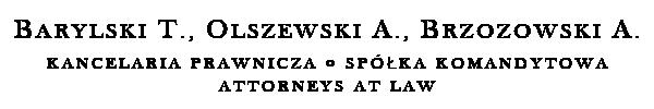 Barylski Olszewski Brzozowski